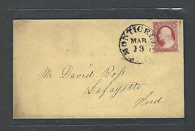 mjstampshobby 1851 US Cover VF Cond (Lot1425)