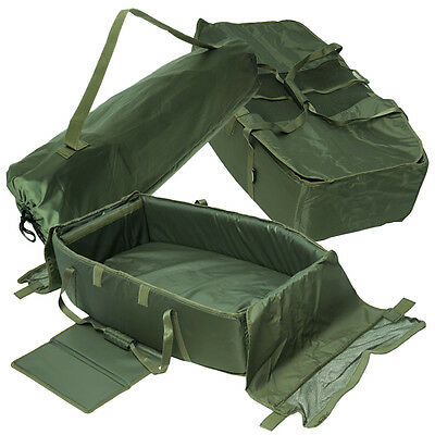 NGT Jumbo Folding Carp Fishing Cradle Unhooking Protective Soft Inner Padded Mat