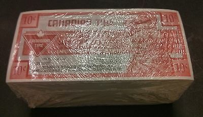 """""""UNC Unopened"""" 2002 One Brick 500 Canadian Tire Money 10 Cents """"0210395500"""""""