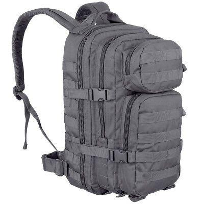 Mil-Tec US Assault Pack Small Patrol Tactical Combat Hiking Backpack Urban Grey