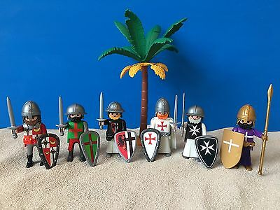 Crusaders Knights Templiers Templar Chateau Castillo Chevalier Temple Playmobil