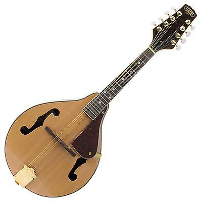 Bluegrass Mandoline A-Style Nature Folk Trous F 8 Cordes