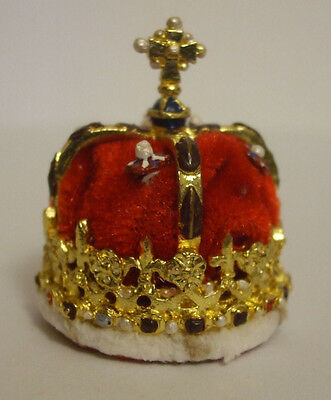 Miniature Crown Jewels Scottish Crown Hand Painted