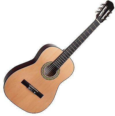 Classic Cantabile Wooden Acoustic Guitar 7/8 Size Classical Guitar Nylon Strings