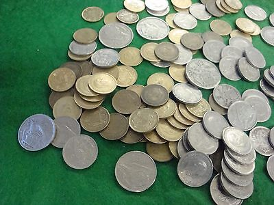 Bermuda Coins Lot of 2 1/2 Pounds of Coins