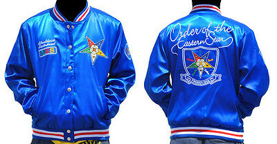 Order of the Eastern Star OES Jacket- Size Medium- New!
