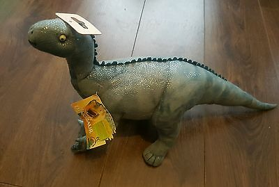 "Disney's  Dinosaur Movie 20"" Roaring Aladar Large Plush Soft Toy Sounds Bnwt"