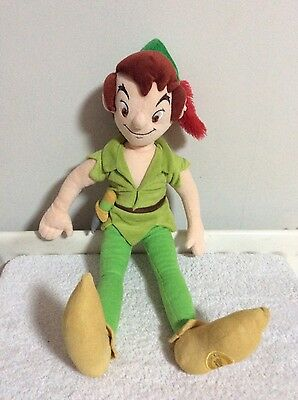DISNEY STORE EXCLUSIVE PETER PAN LARGE 52cm plush SOFT TOY