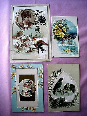 """Trade Cards  """"Toledo, Ohio...  Lion Coffee Company by the Woolson Spice Co"""""""