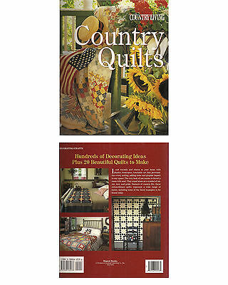 Livre neuf PATCHWORK COUNTRY QUILTS Country living