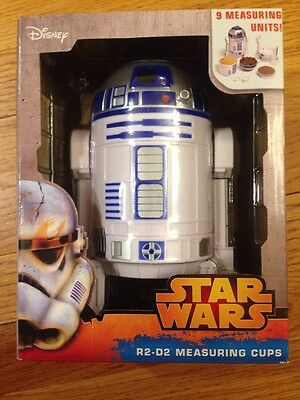NEW Star Wars R2-D2 Measuring Cup and Spoons Kitchen Set Disney  R2D2 Kitchen