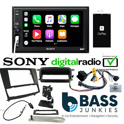 BMW 3 Series E90 Sony DVD Bluetooth USB Car Stereo Double Din Steering Wheel Kit