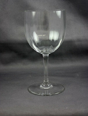 "Baccarat Crystal Montaigne Optic Claret Wine 5 3/4"" Sold Individually"