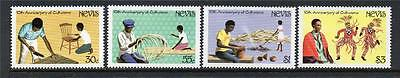 Nevis Mnh 1984 Sg181-184 10Th Anv Of Culturama Celebrations Set Of 4