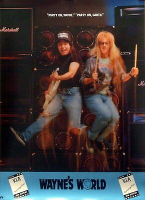 Wayne's World Party On 22x31 Movie Poster Mike Myers