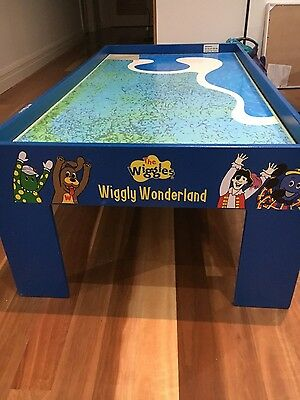 Wiggles train set play table used
