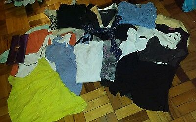 Mixed lot of women's designer clothing tops dresses XS S M