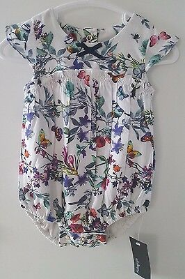 Stunning M&S Baby Girls Floral Summer Romper 3-6 Months / EUR 69 Ted Baker Style