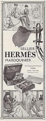 1925 Prind Ad Hermes Sellier Leather Accessories Cases Saddles