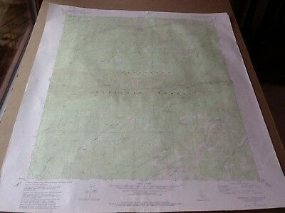 "1979 Dept Of Interior Topo Map Lot #97, Crandall Peak, Calif 22"" X 27"""