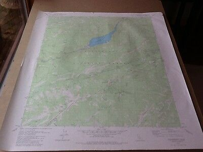 1979 Dept Of Interior Topo Map Lot 98, Strawberry, Calif. Beardsley , Cold Sprs.