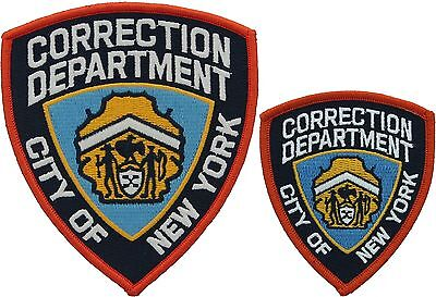 Exceptionnel New York City Corrections Officer Official Badge Iron On Patch