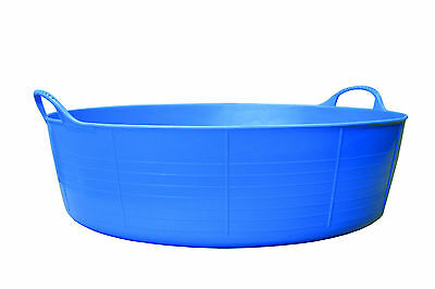 TUBTRUG flexi shallow feed bucket. 15L capacity, lots of colours, carry handles.