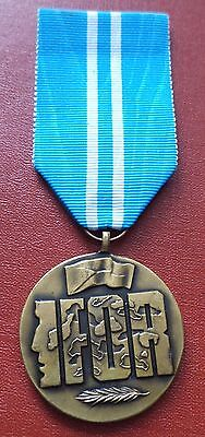Czech Republic IFOR NATO Mission Service Medal order badge
