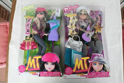 PACK 2 MOXIE TEENZ (Tristen & Melrose). BRAND NEW & BOXED, OLD STOCK.