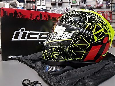 New Icon Alliance | Crysmatic | Helmet | Size Xl |