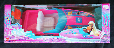 Vintage Barbie: Ocean Adventure, Boat (Lancha Aventura). Brand New Old Stock!