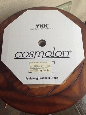 Sew On Hook, 50 Yards, Cosmolon, 2 Inch Wide Military Green, Brand New