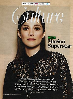Lot Articles  Presse  Clipping 2016   MARION COTILLARD