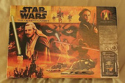 Star Wars: The Queen's Gambit Board Game RARE Out of print (2000) Rob Daviau