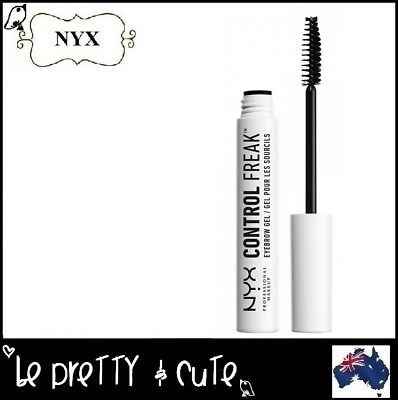 NYX CONTROL FREAK EYEBROW GEL Clear Brow Gel Mascara CFBG01 AUSTRALIA