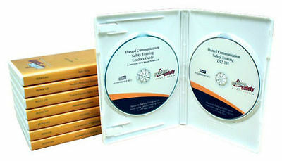 5 OSHA Compliance and Work Safety Related  DVD Video Training Kits