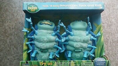 A Bugs Life Talk N' Sing Interactive Tuck and Roll Thinkway Toys NIB