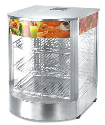 New High Impact Food Warmer/Display Case