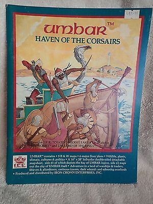 Umbar Haven of the Corsairs ICE 2400 Middle Earth Role Playing, Inc Map! VGC!