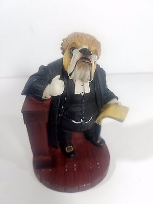 Robert Harrop Doggie People Court Lawyer Bulldog CC108 Figure 1997