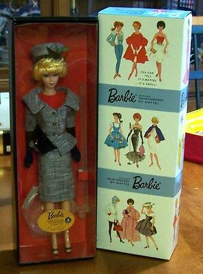 Career Girl Barbie Doll - Vintage Reproductions - Gold Label - NEW