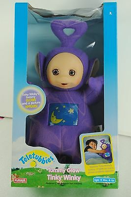 Teletubbies Tummy Glow Tinky Winky Toy Purple Hasbro Playskool In Box