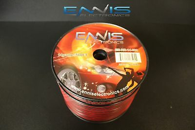 14 Gauge 500 Ft Red Black Zip Wire Awg Cable Power Stranded Copper Clad Ee