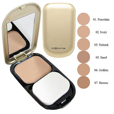 Max Factor Facefinity Compact Foundation SPF 15 10g - Choose Your Shade - New
