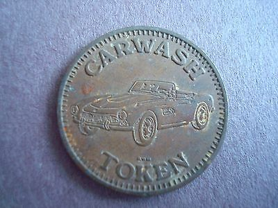 Old Token, Carwash Token,  No Cash Value,
