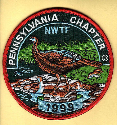 Penna Pennsylvania Game Fish Commission related NEW 1999 NWTF Pa Chapter patch
