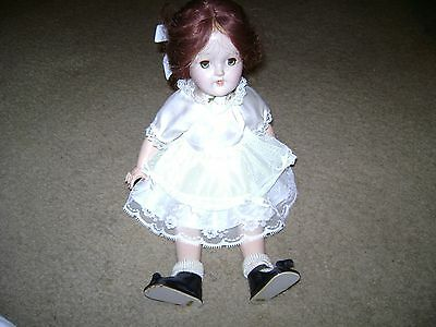 """Vintage Ideal Toni Doll...P-90...Red Hair/Green Eyes...14"""""""