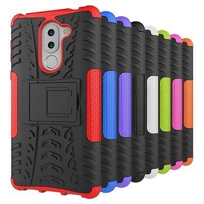 Heavy Duty Tough Kickstand Strong Case Cover For Huawei GR5 2017 | Honor 6X