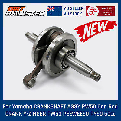 Aftermarket YAMAHA PW50 COMPLETE CRANK CRANKSHAFT CON ROD ASSEMBLY YZinger 50cc