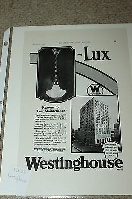 South Bend Indiana Westinghouse Corp 1925 Magazine Ad